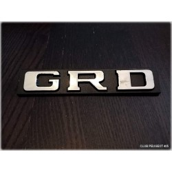 Monogramme GRD Chrome