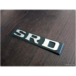 Monogramme SRD Chrome