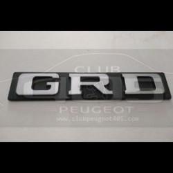 Monogramme GRD mat