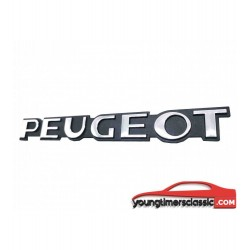 Monogramme Peugeot chromé