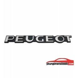 Monogramme Peugeot mat