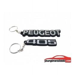 Lot porte-clé Peugeot 405